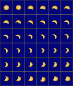Partial Solar eclipse 2017 viewed by SDI.